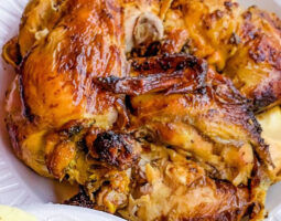 1 Roasted Chicken – Includes Choice of (1) Side Order
