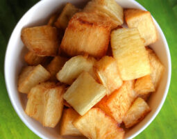 Cassava (Yucca) Fried/Steam